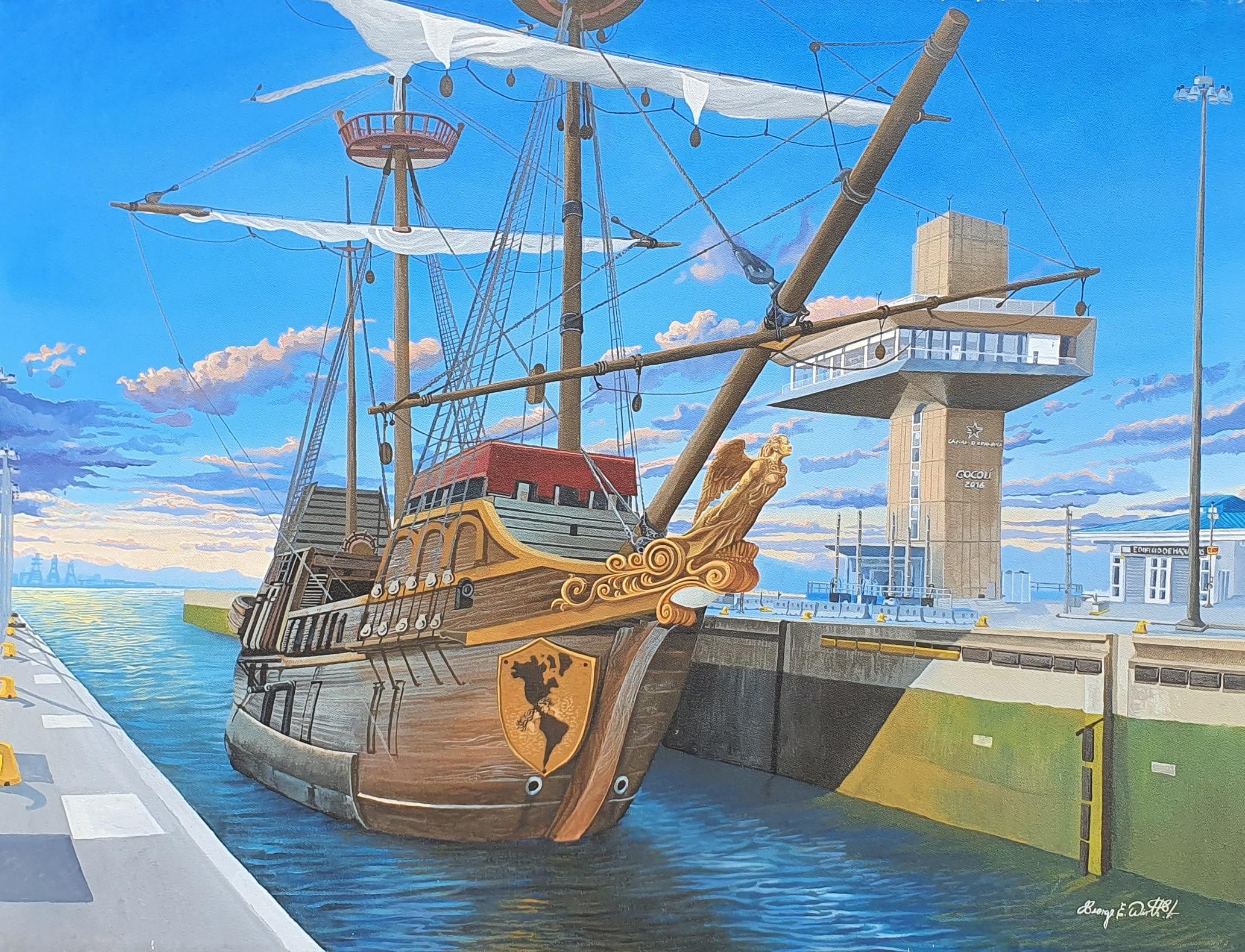 """""""Barco pirata en el canal"""""""